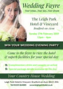 Wedding Fayre Flyer - 17/02/2019